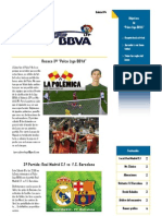 Boletin Palco Liga BBVA 4ª Edicion IMPRIMIR