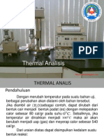 Thermal Analis Ringo
