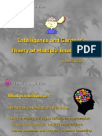 Howard Gardner's Theory of Multiple Intelligence