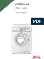 AEG Washing Machine Manual