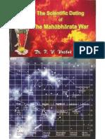 Scientific Dating Mahabharta
