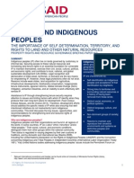 Indigenous Peoples Brief August 2011