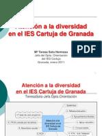 Atención a la diversidad enIES Cartuja de Granada.DEFINITIVO