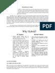 Hybrid Electric Vehicles Basics