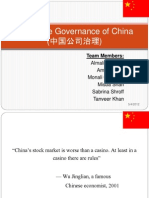 Group 8_Corporate Governance of China