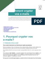 Comment Crypter Vos E-mails Avec OpenPGP