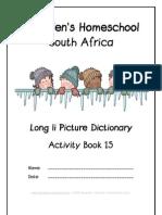 Long i Dictionary Workbook - Donnette E Davis