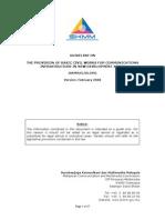 SKMM Comm Infra Guidelines