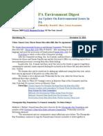 Pa Environment Digest Dec.12, 2011