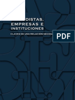 RRPP Periodistas-empresas e Instituciones