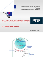 Modificaciones Post Traduccionales