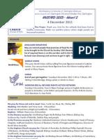 December 4 2011 Email