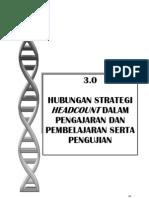 Manual_03 - Hubungan Strategi Headcount Dalam P&P Serta Pengujian