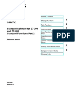 7260908 Standard Software for S7300 and S7400 Standard Functions Part 2