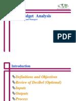 Link Budget Analysis (WFI)