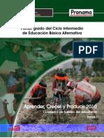 Sesiones de 1er grado Educación Básica Alternativa