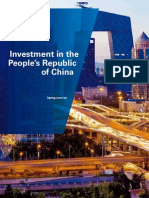 Investment in China 112011