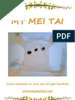 Mini MeiTai - Come cucire un mei tai per bambole