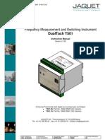 Jaquet T501 Manual