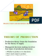 Production & Business Organization