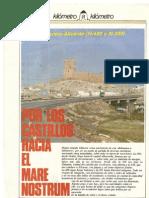 Revista Tráfico – nº 12 – Junio de 1986. Reportaje Kilómetro a kilómetro