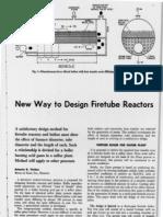 New Way-To Design Firetube Reactors