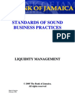Standards Liquidity Management