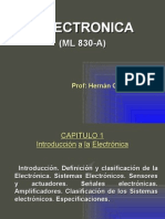 Introduc. a La Electronica-uni Clase 2011-2