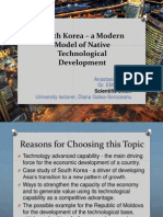 South Korea – a modern model of native