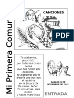 PRIMERA COMUNIÓN colcas