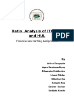 Fa Assign Itc and Hul Ratio Analysis
