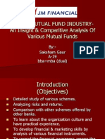 Indian Mutual Fund Industry- An Insight & Comparitive