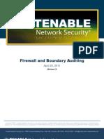 Firewall Auditing
