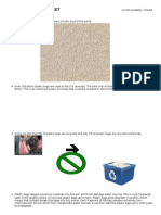 Climate Action Club Fact Sheet for Paper vs. Plastic Campaign