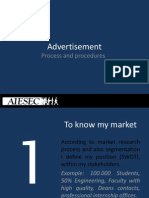 Positioning Advertisement, Media Management, PPRR, CRM )