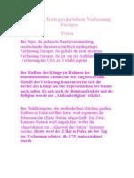 3. 5. 1791, Erste Geschriebene Verfassung Europas