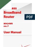 Mi424wr Rev. e&f User Manual 20.10.7 v1 Gpl
