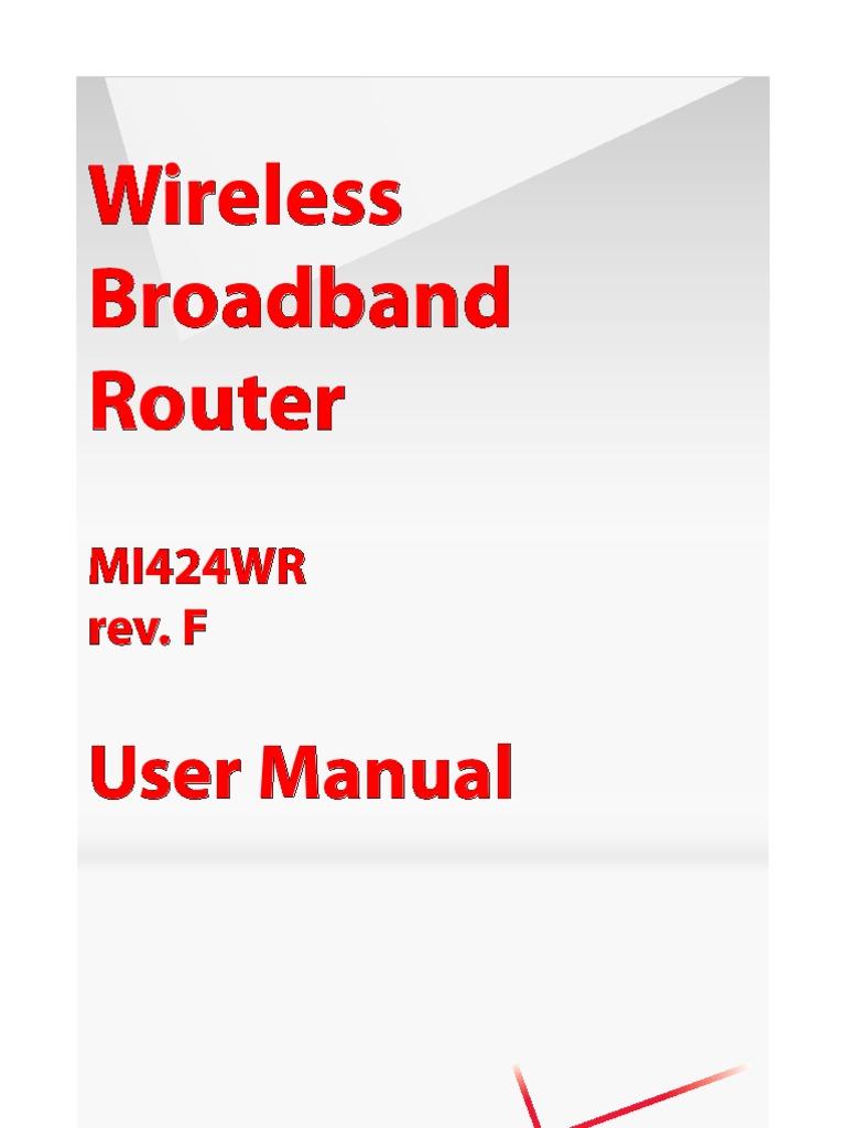 mi424wr rev e f user manual 20 10 7 v1 gpl computer network wi fi rh scribd com mi424wr rev. i firmware upgrades mi424wr rev e manual