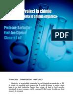 Proiect La Chimie-Izomeria in Chimia Organica