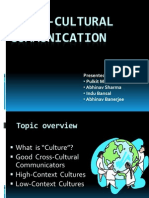 Cross-Cultural Communication for Bc