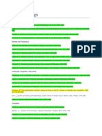PhD Readings