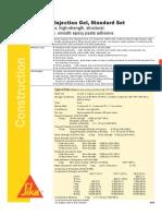 SikaDur Injection Gel Tech Data Sheet