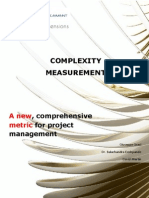 Complexity Management - A New Comprehensive Metric for Project Management