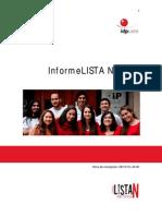 Informe Lista N CAAIDP 2012