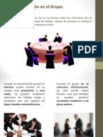 Comunicación e Integración en el Grupo de Trabajo
