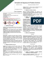 Ficha de Informações de Segurança de Produtos Químicos ACIDO CLORIDRICO