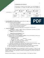 2 PRINCIPAIS FASES DO TRABALHO ESTATÍSTICO
