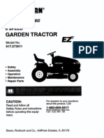 98080209 Riding Mower 42 in 20 Hp