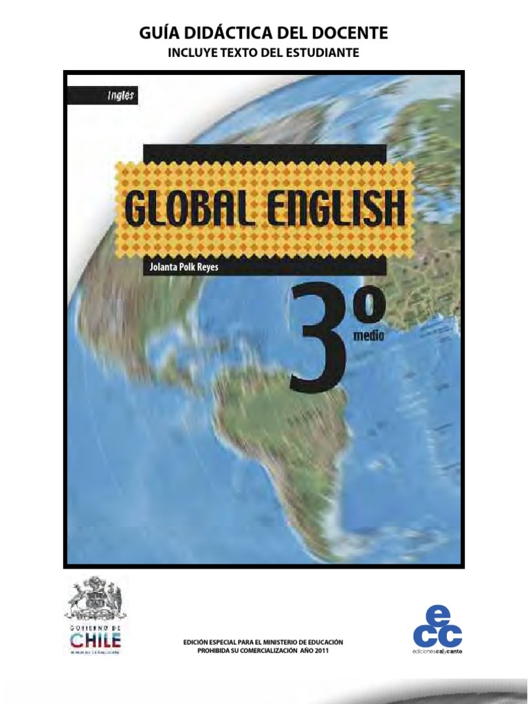 Global English 3° Medio | Evaluation | Learning