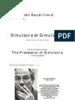 Jean Baudrillard A szimulákrum elsőbbsége